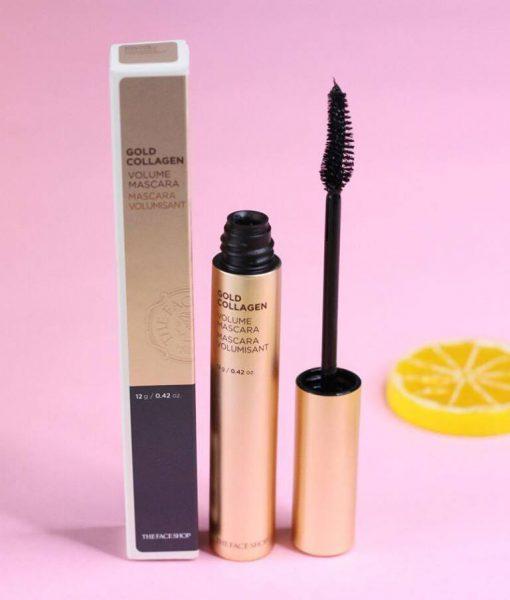 mascara gold collagen